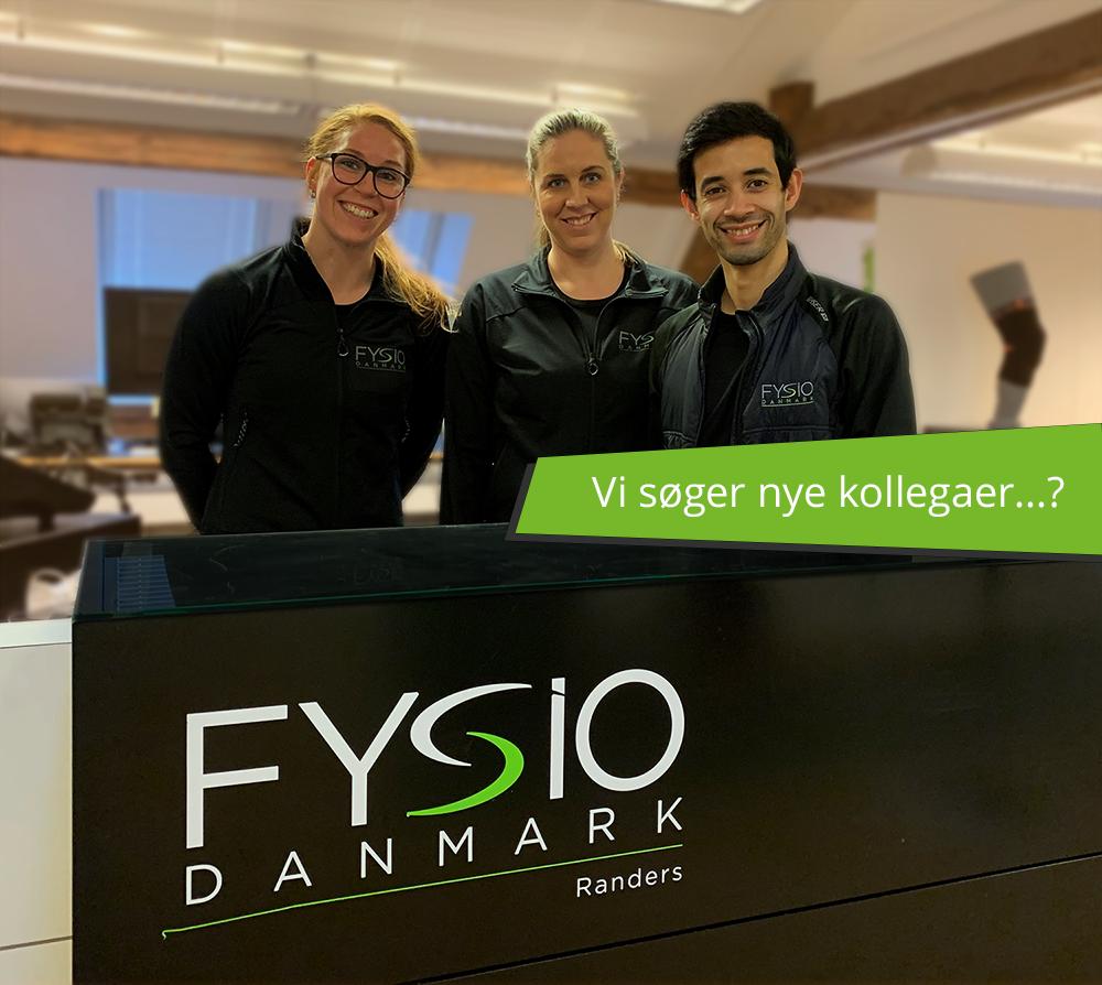 Job fysioterapeut I FysioDanmark Randers