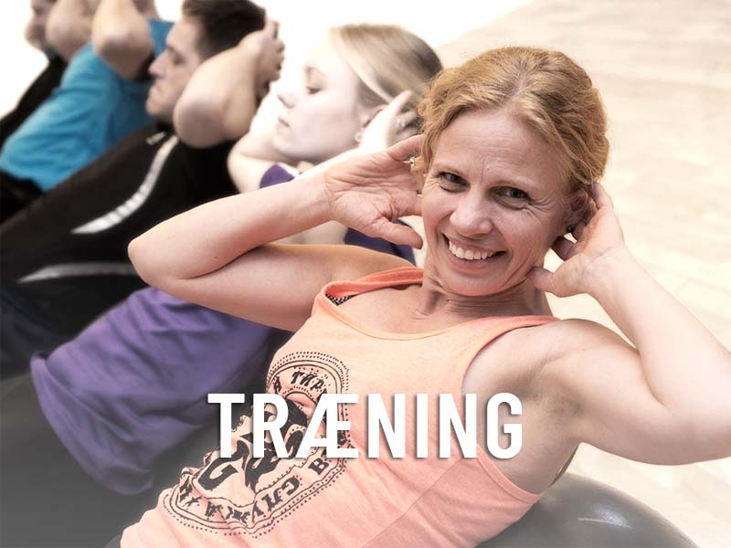 Træning   Fysioterapeut  FysioDanmark Randers