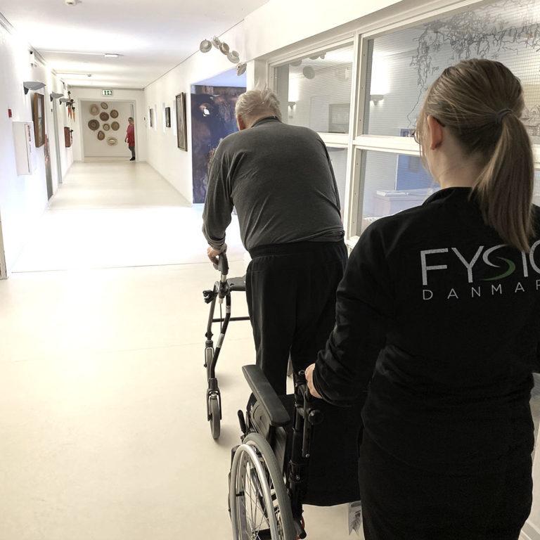 Hjemmebehandling | FysioDanmark Randers