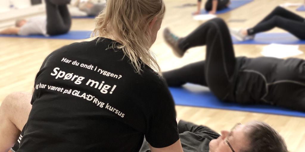 Holdtræning – GLAD Ryg | FysioDanmark Randers