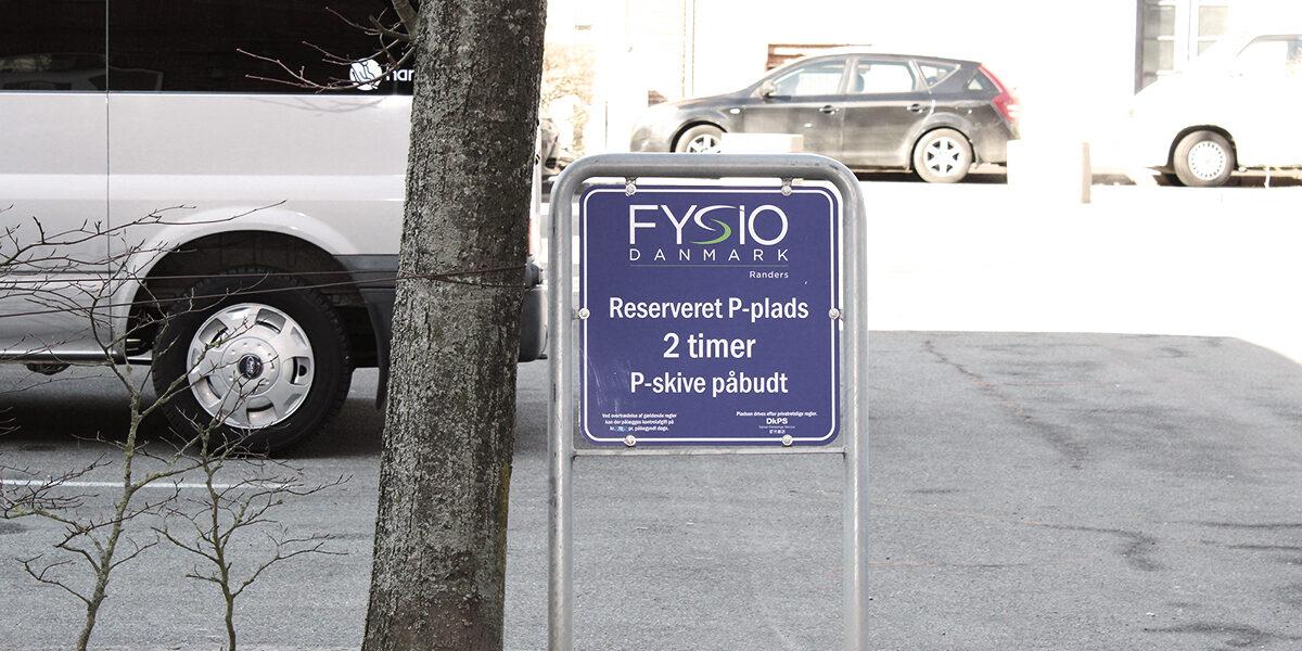 Gratis parkering | FysioDanmark Randers